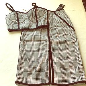 Couture skirt set